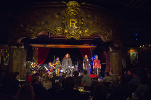 Kevin Brown with the Alexander Kariotis orchestra at Manhattan's Cutting Room